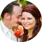 Justin and Kaylee Dussel happily married at Saxon Manor in Brooksville, FL